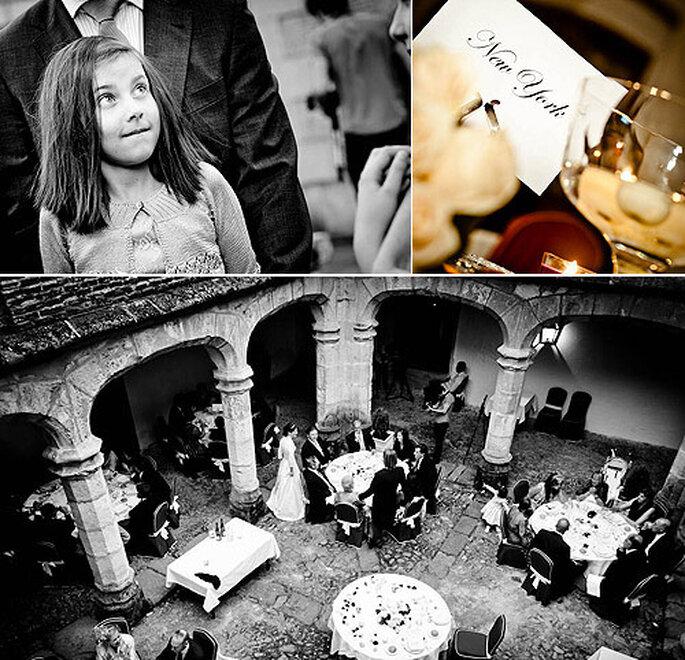 Los invitados se dieron cita en uno de los claustros del hotel Sheraton. Foto: Manu Jiménez, de GlobalFotografía