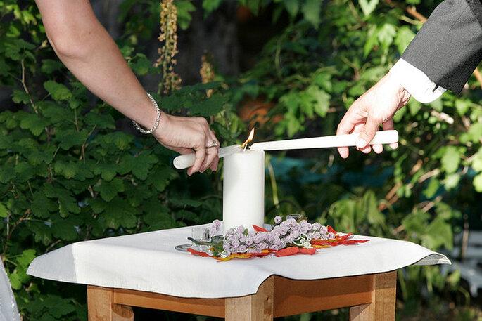 Ceremonia de las velas. Foto: Brandon and Kaja Geary