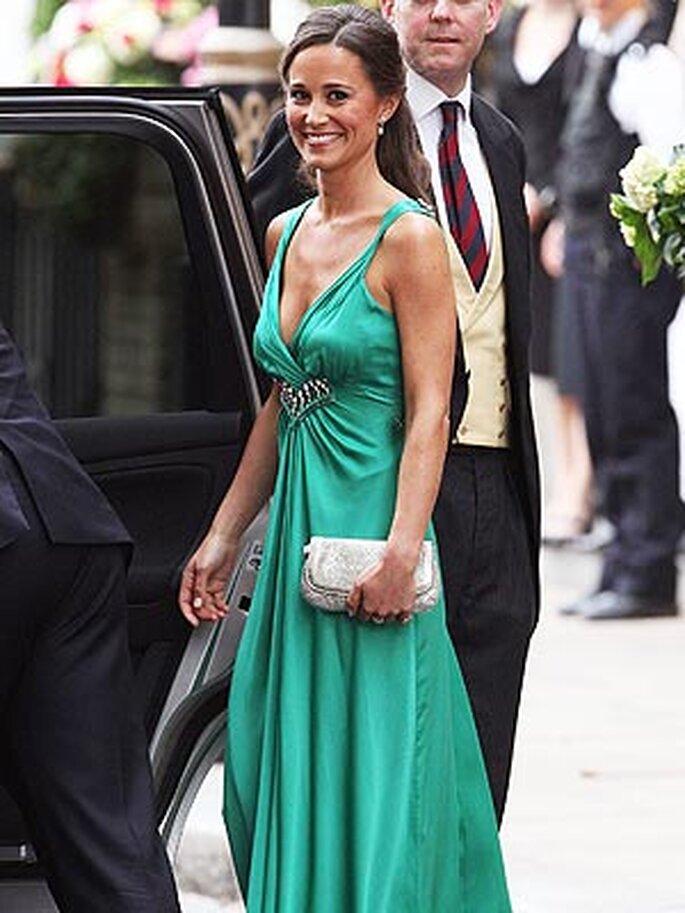 Segundo vestido de Pippa Middleton - Fuente: www.pippa-middleton.co.uk