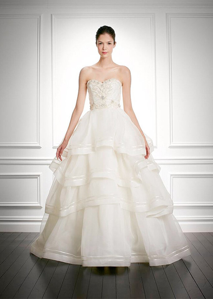 Carolina Herrera Bridal Collection. otoño-invierno 2013-2014