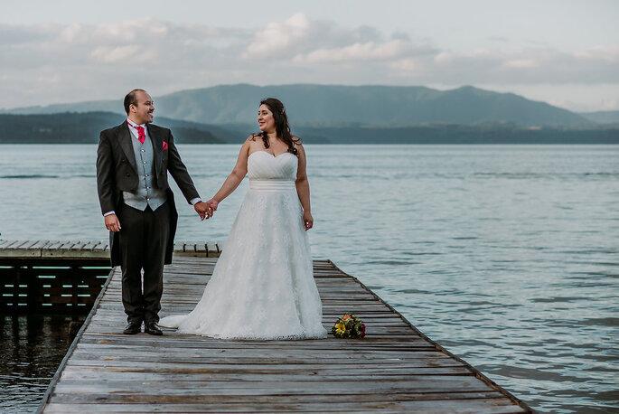 Paty y diego una boda con toda la magia y romance del sur crditos el arrayn fotografa altavistaventures Image collections
