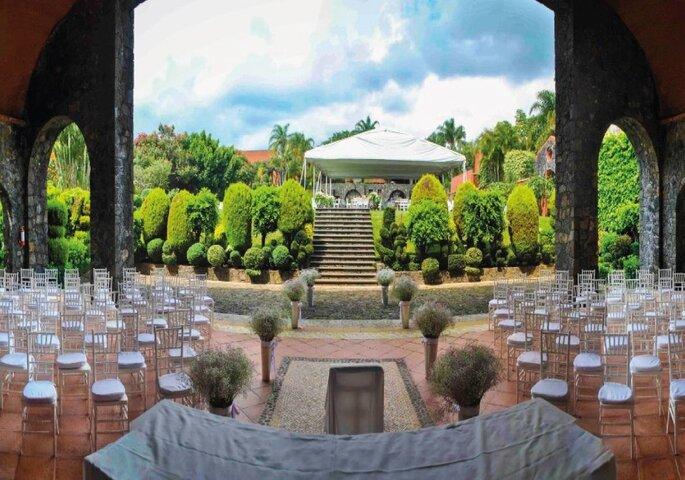 Gallaecia Garden & Suitessalones para bodas Tepoztlán
