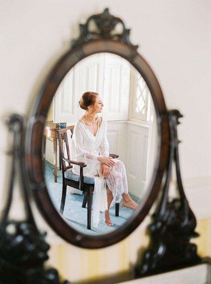 noiva ao espelho clássico