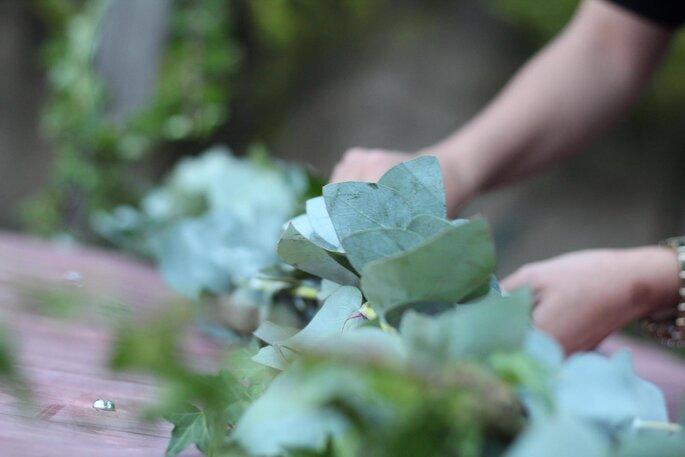 Melancolía Intervención Floral