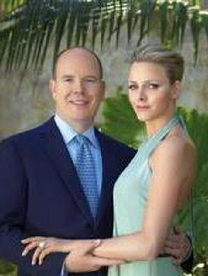 Prince Albert of Monaco and Charlene Wittstock