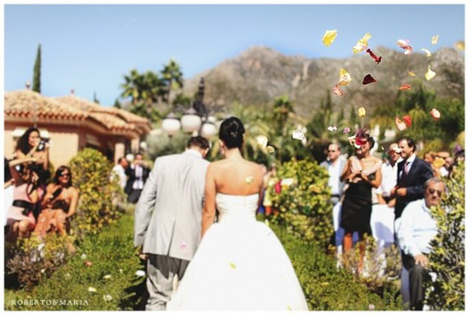 Fotografias espontaneas en una boda - Foto Roberto & Maria