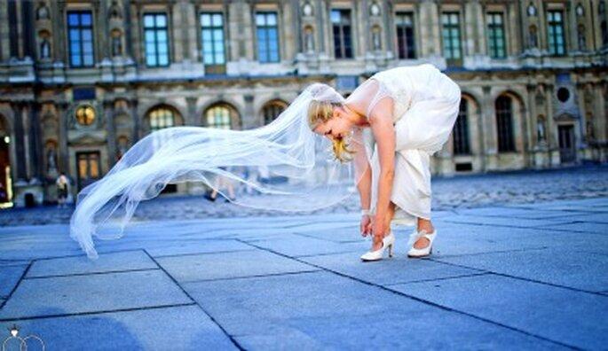 Romantische Kulisse für Ihre Hochzeitsfotos: Paris! Foto: Katja Schünemann. www.ks-weddings.de