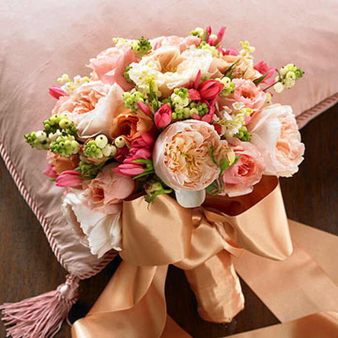 Romantisch: Brautsträuße in Pastelltöten – Foto: bhg.com