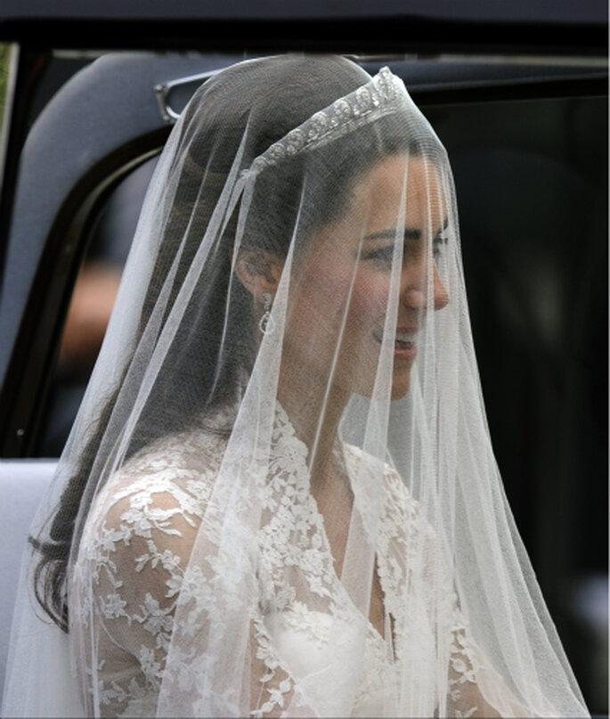 A pureza do véu da noiva