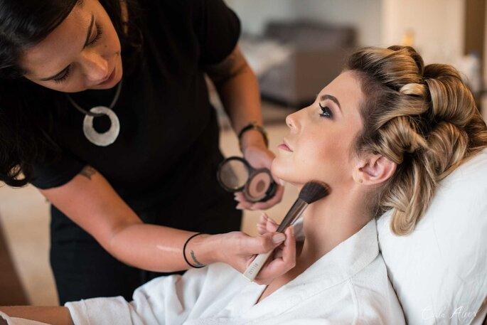 Cabelo e Maquiagem: Pérola Rodrigues - Foto: Carla Alves Fotografia