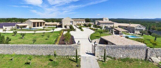 Domaine de Sarson - Lieu de réception - Mariage en Provence