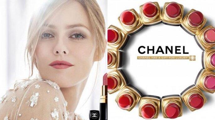Cómo saber que color de labios usar. Foto  Chanel Rouge Coco lipstick campaign. Chanel.com
