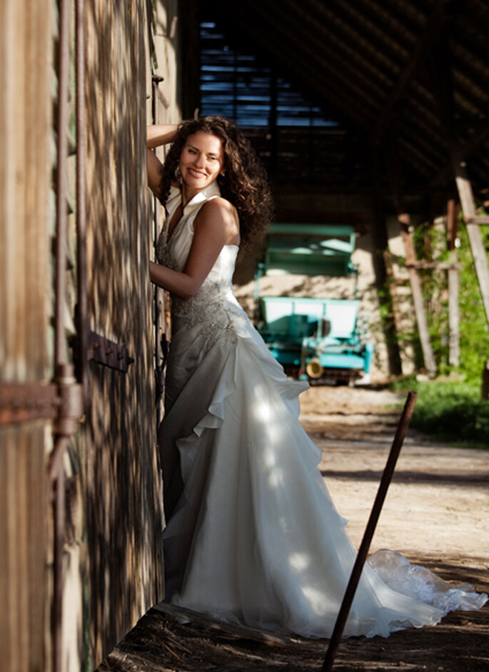 Brautshooting auf dem Land