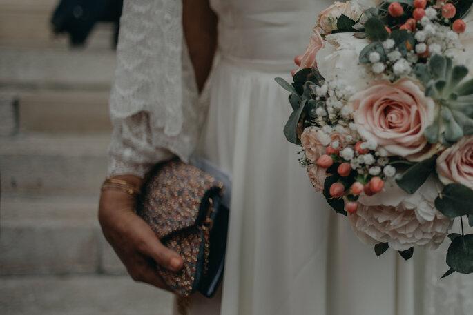 Sélection du bouquet de la mariée en accord avec le thème de son mariage