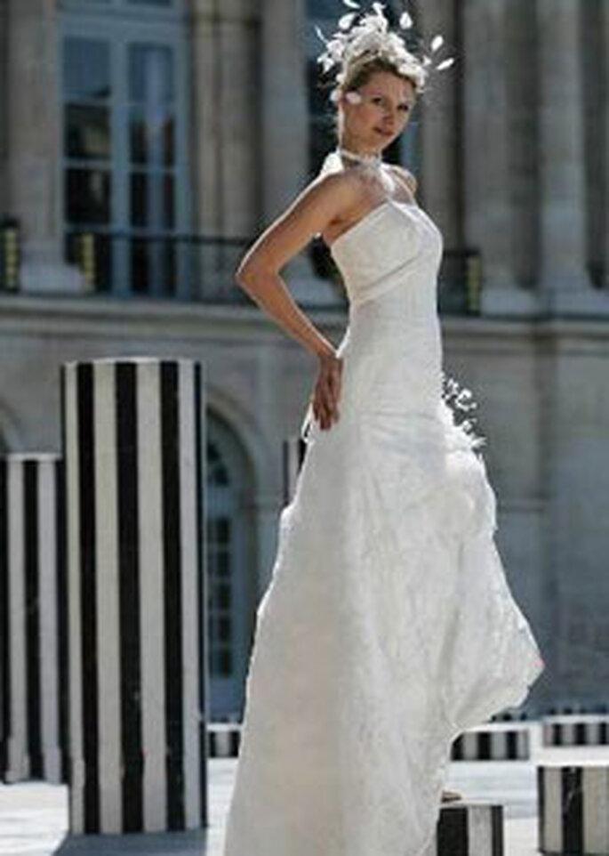 Robe de mariée Cherry Chau - Robe longue bustier