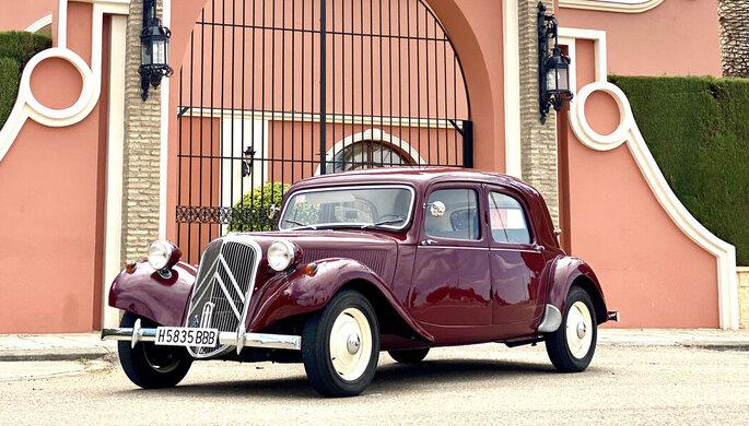 Clásicos de Boda DELUX coches bodas Sevilla