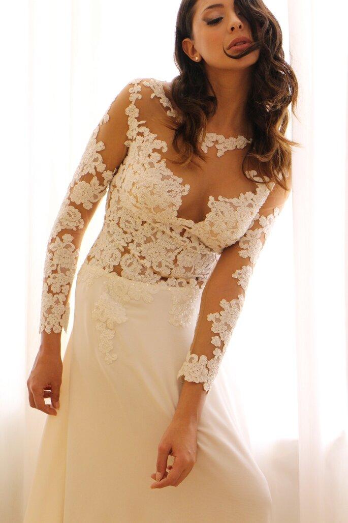 3ab1f2a2e17c 3 trucchi imperdibili per essere perfetta con un abito da sposa in pizzo