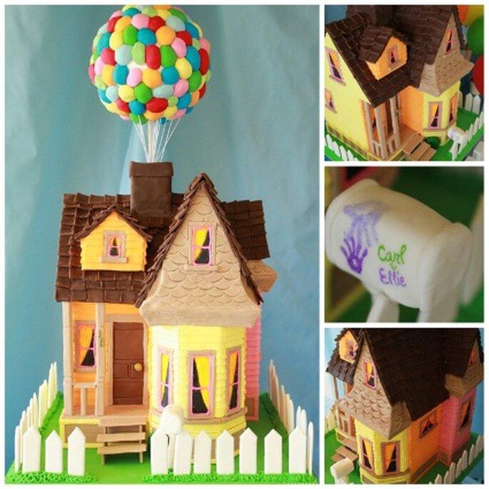 """Gâteau maison """"Là-haut"""" - Amyatlas.com"""