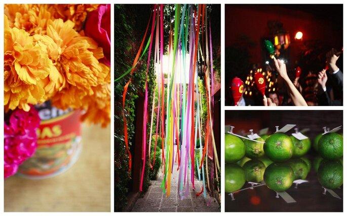 Decoración para boda. Foto de Anahí Navarro.
