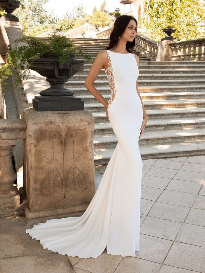 Vestidos de novia elegantes para bodas 2021 Pronovias