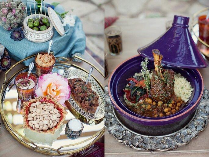 menu boda marroquí