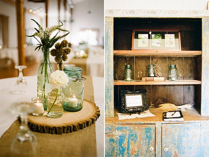 Bodas Decoracion Rustica ~ Foto The McCartneys Photography at The Family Farm Lofts