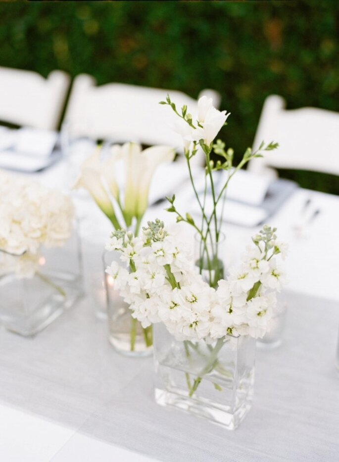 Decoraciones perfectas para una boda minimalista - Foto Lane Dittoe