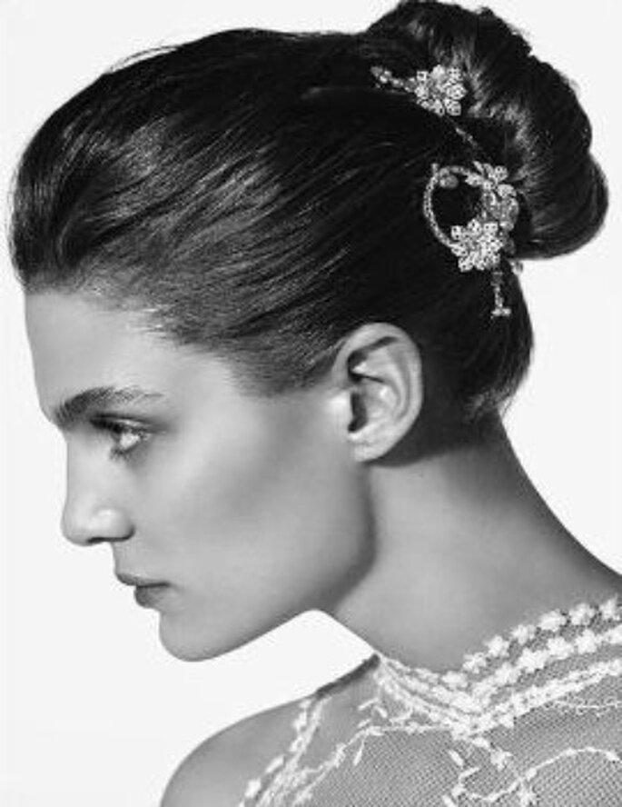 Accesorios de pelo de novias de Rosa Clará