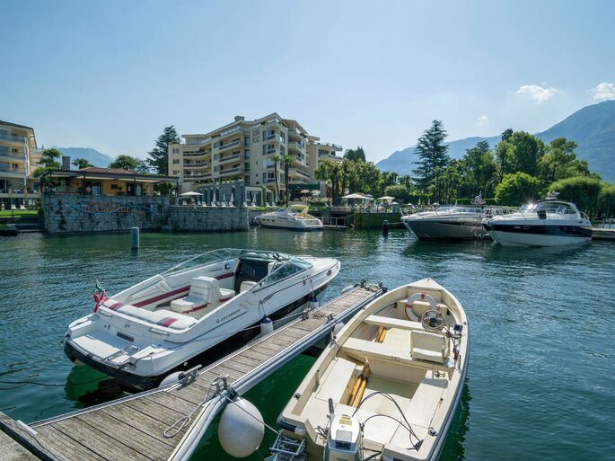 Hotel Eden Roc in Ascona