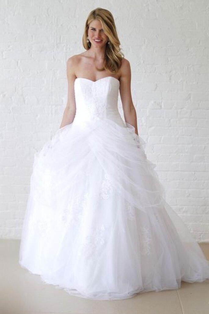 Brautrobe von Davids Bridal