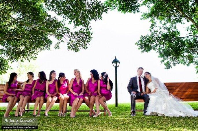 Divertida sesión de fotos con tus damas - Foto Antonio Saucedo