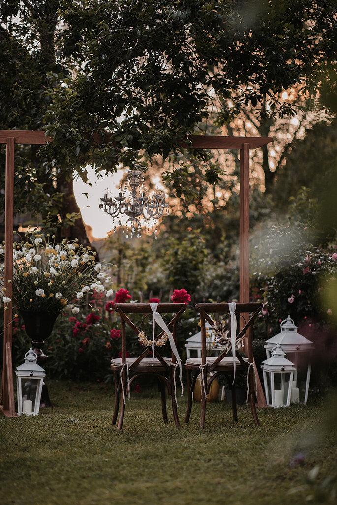 Freie Trauung im Garten