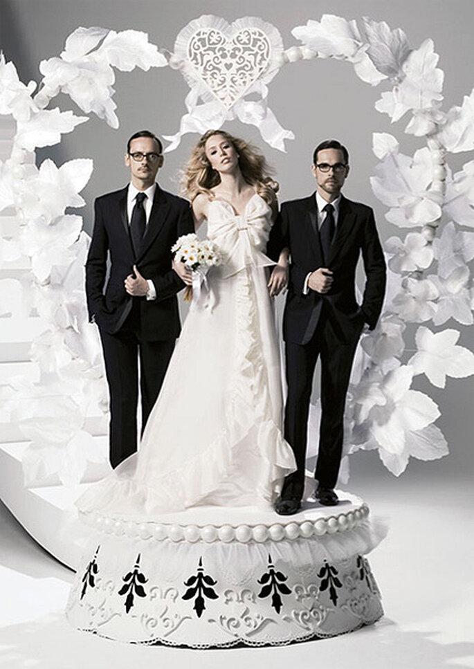 El vestido de novia de Viktor & Rolf para H&M. Foto: H&M
