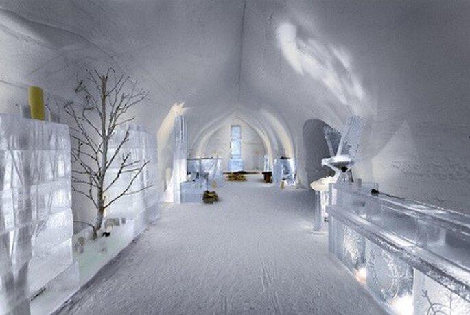 Bodas en el hielo - Hotel Kakslauttanen (Finlandia)