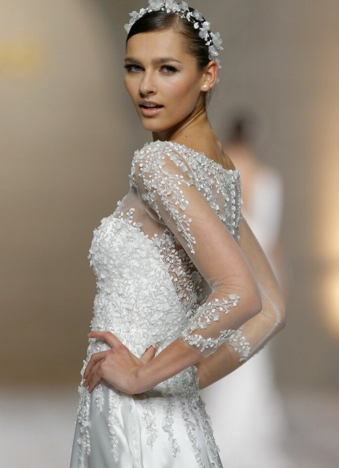 Pronovias, collestion 2015 - Photo: Barcelona Bridal Week
