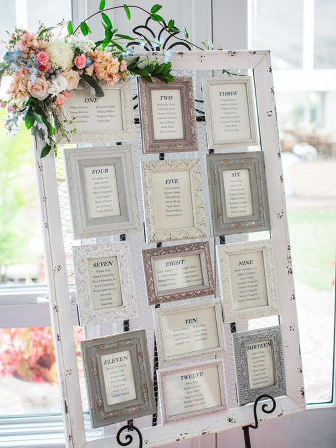 Tableau Matrimonio Tema Diamanti : Tableau de mariage: ecco tante idee per scegliere il più originale