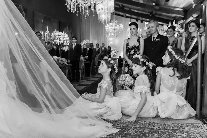 pajens e daminhas de casamento