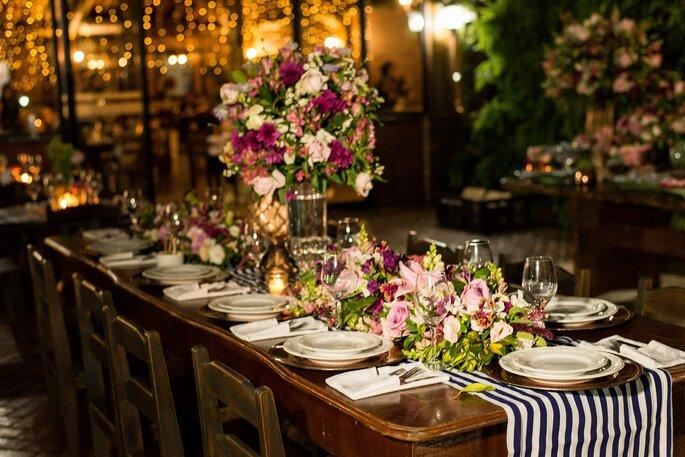 Decoração, flores e paisagismo: Florearte Eventos - Foto: Cris Polizello Fotógrafo