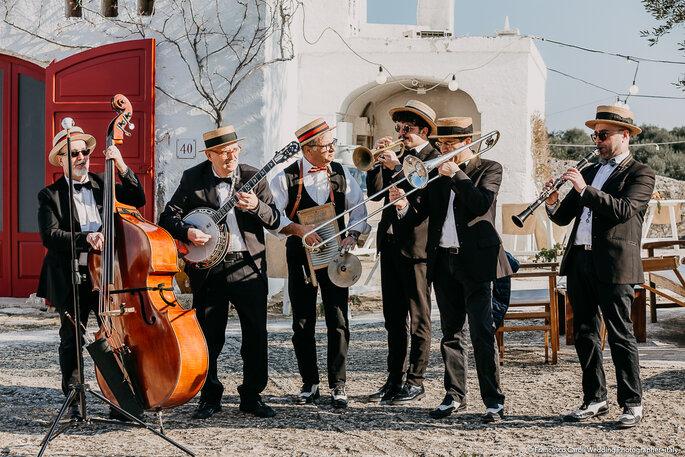 La mia banda suona... lo swing e non solo, grazie a Luciano Vurchio Music Planner - Foto: Francesco Caroli Wedding Photographer