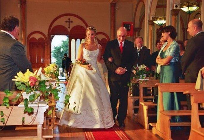 Protocolo para bodas en la Iglesia