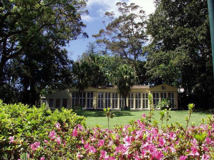 Estufa Jardim Botânico José do Canto