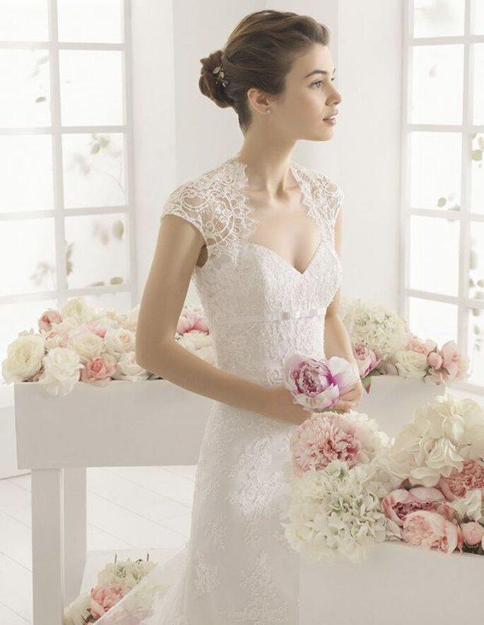 lindo vestido de noiva com bolero