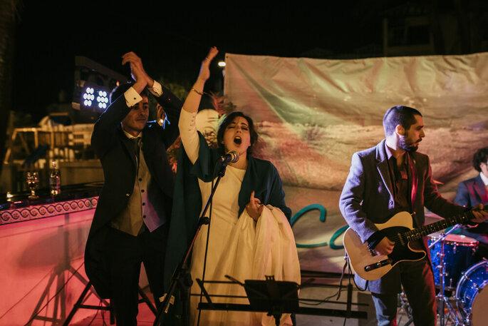 The Cucumbers, Música en vivo Madrid