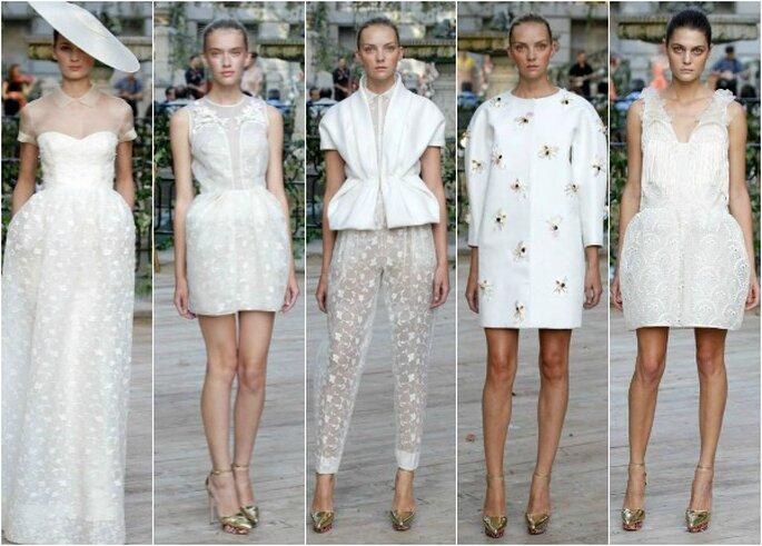 'White looks' de DelPozo, primavera-verano 2013. Foto: DelPozo