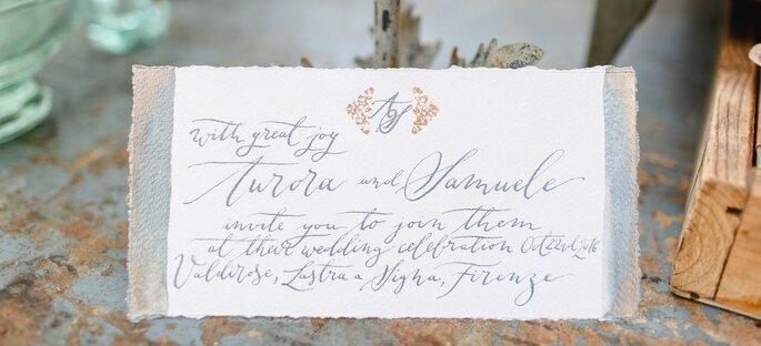 Zweisprachige Hochzeit planen, internationale Hochzeitspapeterie
