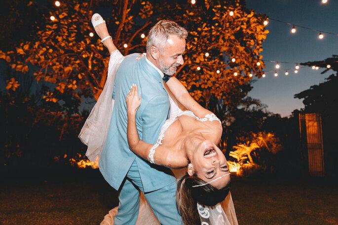 Noivos fotografados por Rafa Pinheiro
