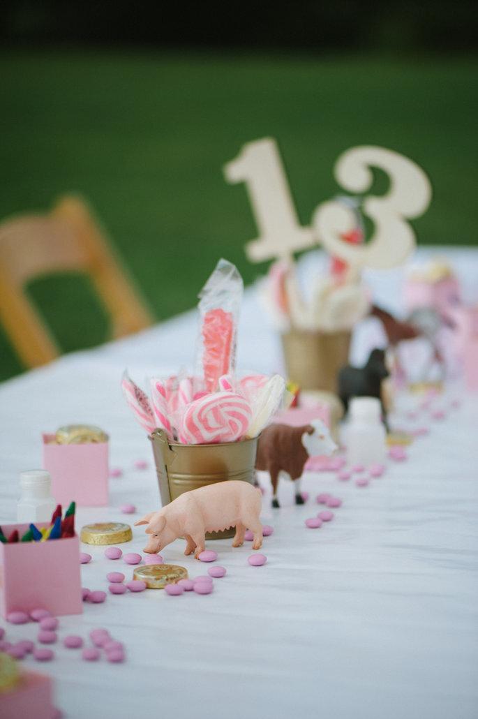 Detalles para niños en la boda