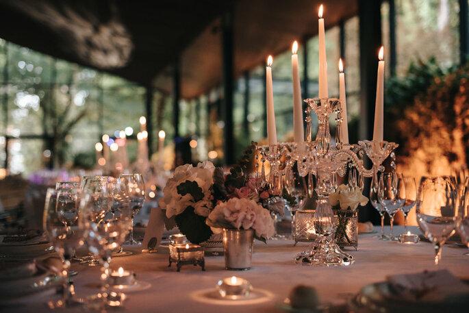 mesa decorada casamento