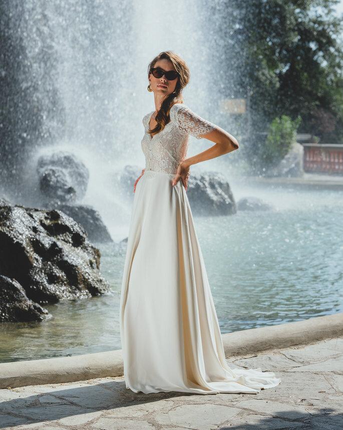 Printemps Haussmann - Boutique de robes de mariée - Maison Floret - Paris
