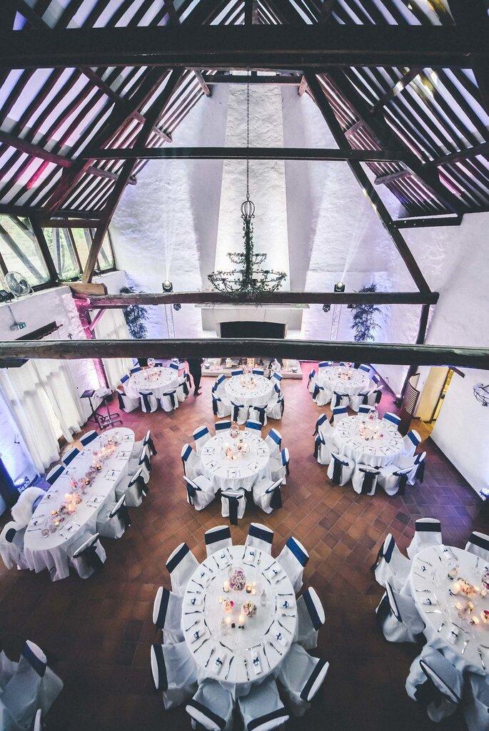 Salle de réception style ferme rustique et champêtre pour votre mariage